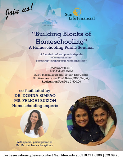 Building Blocks of homeschooling
