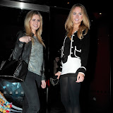 WWW.ENTSIMAGES.COM - Kat Trevor and Kimberley Garner   at   Floridita cocktail Bar  Launch of the Rum Shack at  100 Wardour St, London February 1st 2013                                                        Photo Mobis Photos/OIC 0203 174 1069