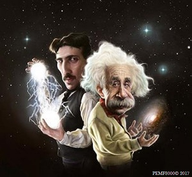 Tesla to Einstein birth of PEMF8000