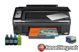 Reset Epson SX210 printer Waste Ink Pads Counter