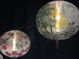 Lanterns hung at Sun Yat-sen Memorial Hall