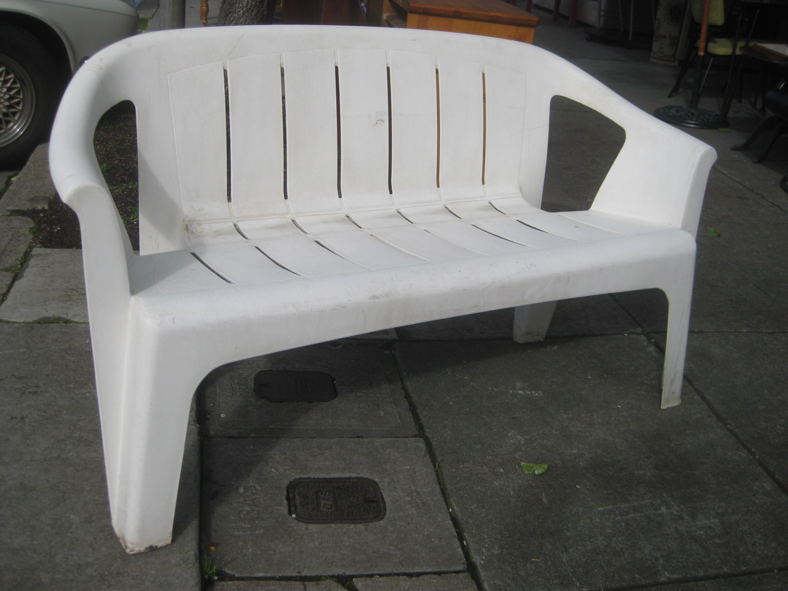 SOLD   Patio Furniture. Plastic ...