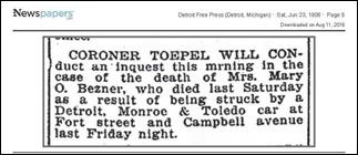 BEZNER_Mary_O_coroners_Inquest_23_Jun_1906_DetFreePress_pg_5 - Copy