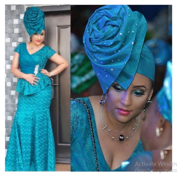 Newest Mouth Watering Trending Asoebi Styles 2017