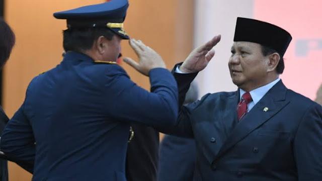 Prabowo Subianto, Menteri Rasa Presiden