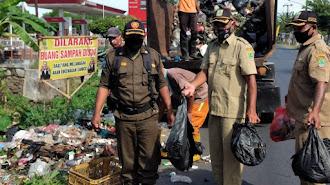 Overload, Sampah Liar di Kutakarya - Kutagandok di Angkut DLHK Wilayah II
