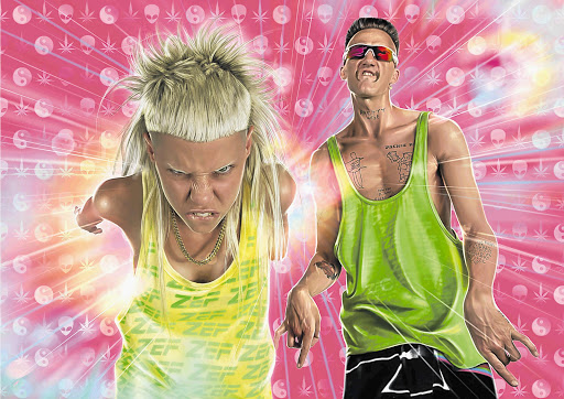 Die Antwoord are making a TV series