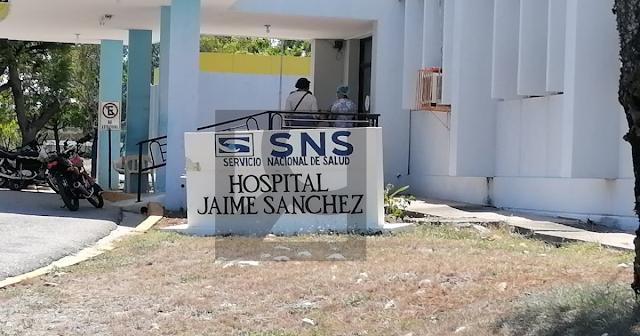 Hospital Jaime Sanchez: Ocupado en un 48% , 19 pacientes internos  de 40 camas existente  y una persona fallecida.