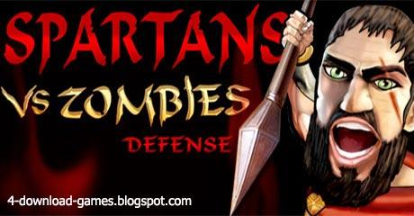 لعبة اسبرطة ضد الزومبي Spartans Vs Zombies