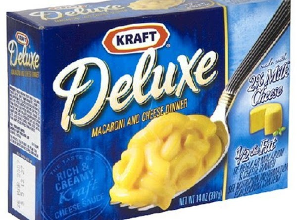 Kraft Macaroni and Cheese Deluxe Dinner