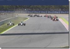 L'incidente tra Lewis Hamilton e Nico Rosberg
