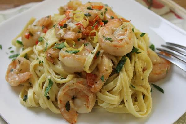 Lemon & Herb Linguine With Shrimp Recipe