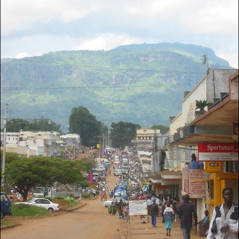 Mbale in the east