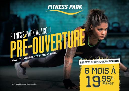 Fitness Park : Pré-ouverture