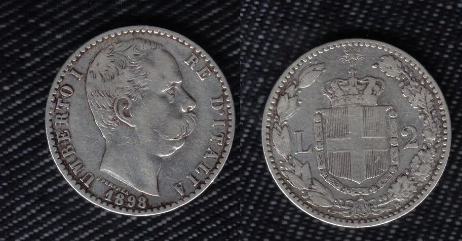 Mi colección de monedas italianas. 2%20liras%201898%20