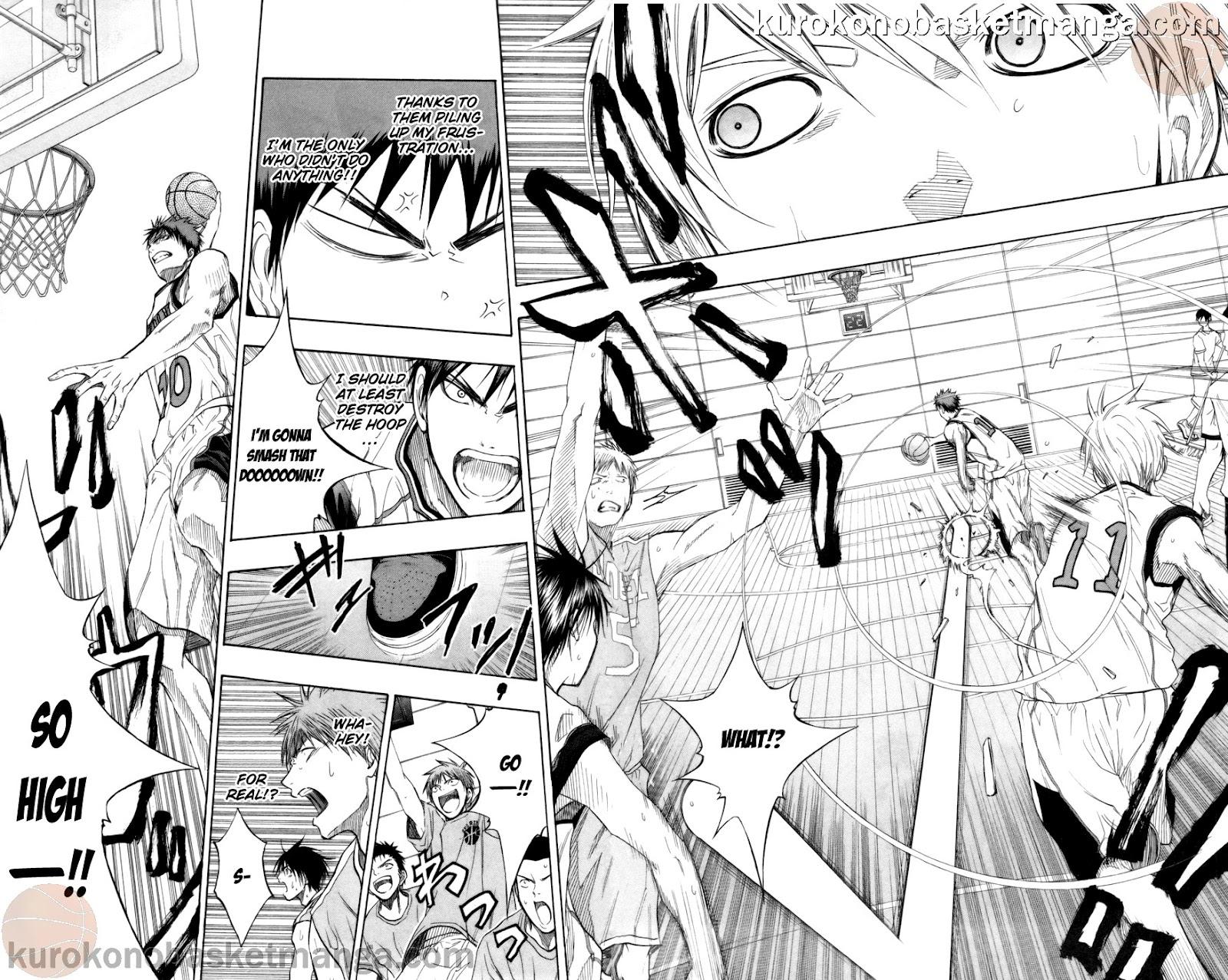 Kuroko no Basket Manga Chapter 82 - Image 16-17