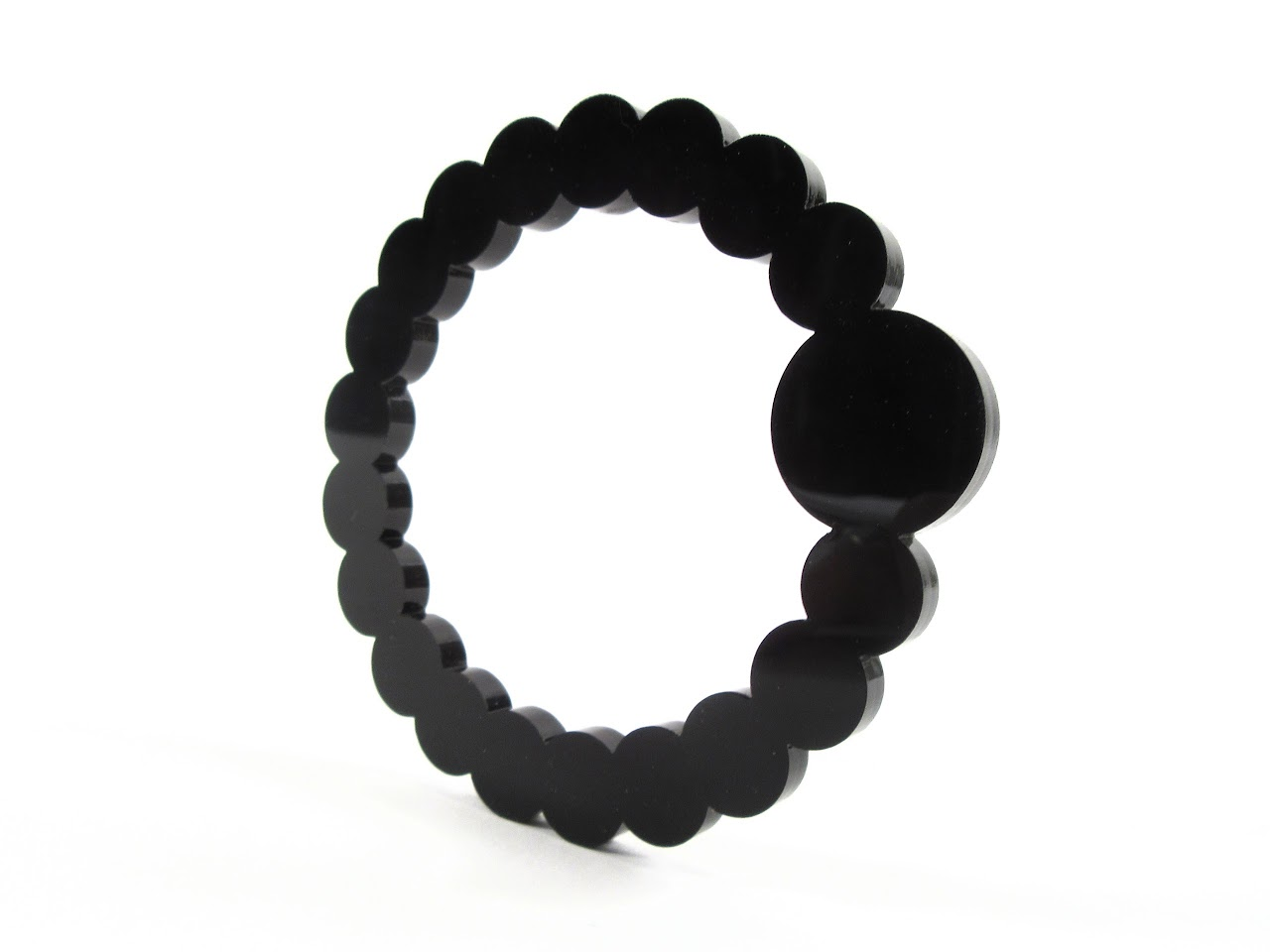 By Amt: Bling Bracelet, Black