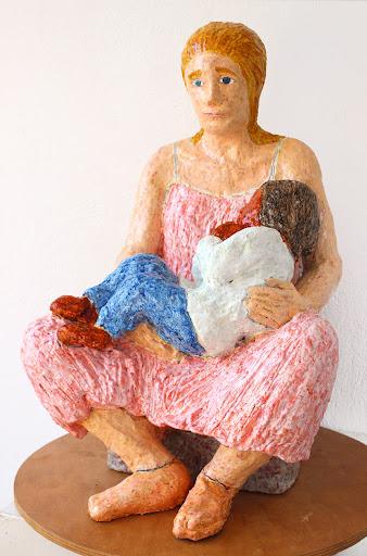 mare de déu amb el nen dormint ~ frank waaldijk