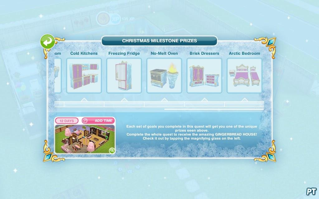 Sims FreePlay -The Secret Winter Wonderland quest
