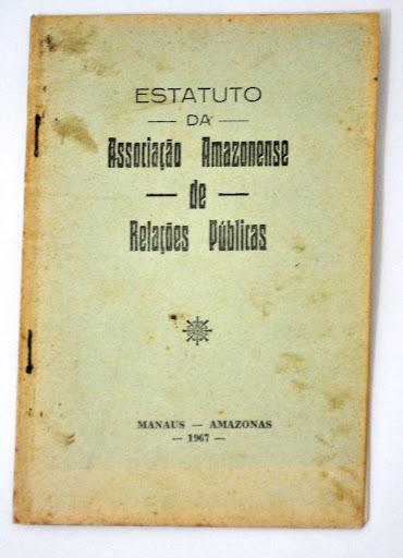 Estatuto da Associação Amazonense de Relações Públicas (AARP) - 1967