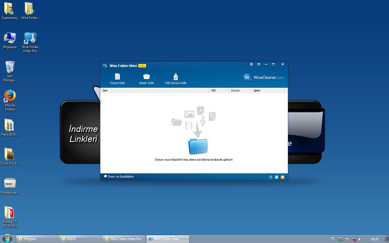 Wise Folder Hider Pro 4.2.6.186 Türkçe