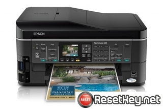 Reset Epson WorkForce 635 Waste Ink Pads Counter overflow error