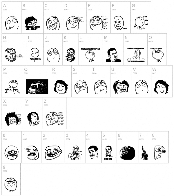 Memes Font