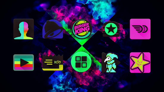 Black Light Icon Pack - náhled