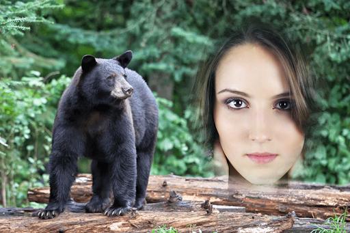 Make Me On Animal Photo Frame