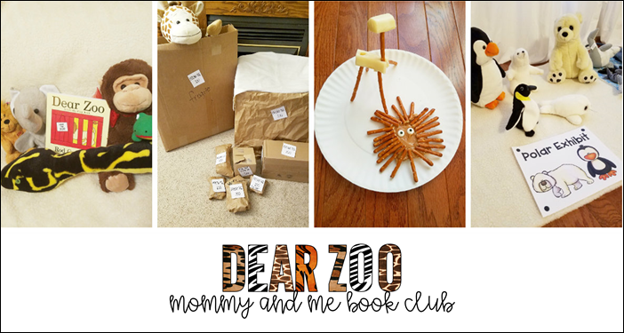 Dear Zoo Mommy and Me book club