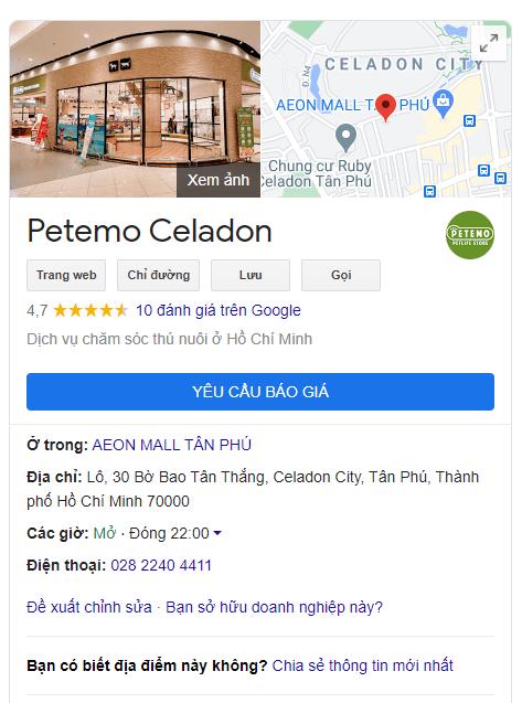 Siêu thị nào ở Hồ Chí Minh cho phép mang chó mèo cưng vào? Đến Petemo Aeon Tân Phú nha nha nha!