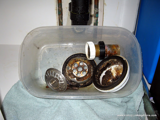 Kitchen Basket Strainer Leaky