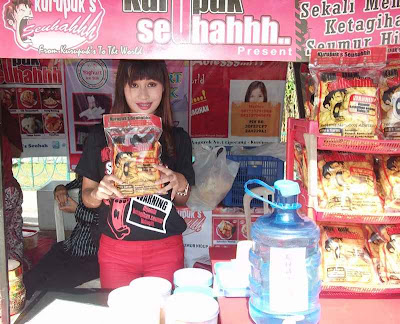 Kerupuk in Food Festival