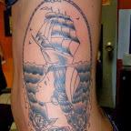 portrait arm - tattoos for women