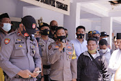 Aksi Damai Di Polres Lombok Tengah Berakhir Tertib