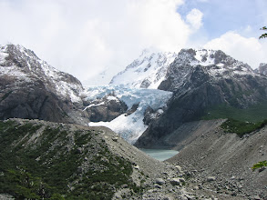 Photo: Lago & Glaciar Piedras Blancas