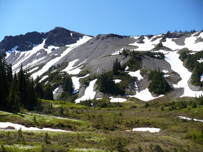 There's Hayden Pass--Now we're headed to 1000 Acre Meadow