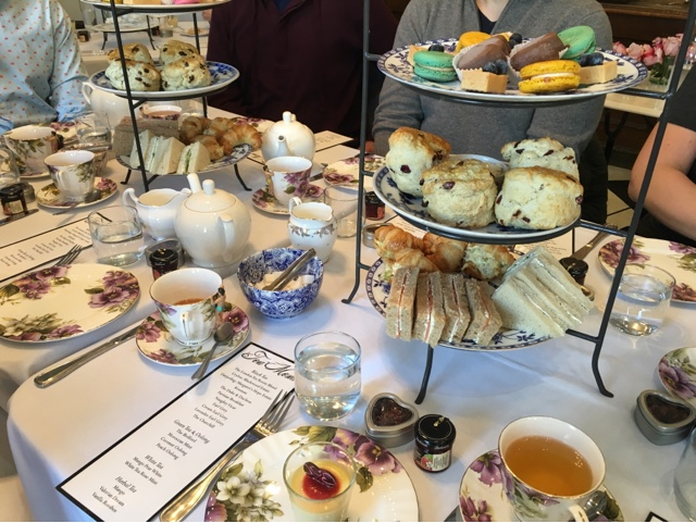 The London Tea Room St Louis Mo