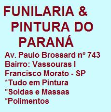 Funilaria e pintura do Paraná