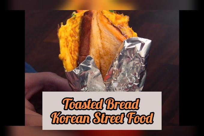 Toasted Bread | Korean Street Food
