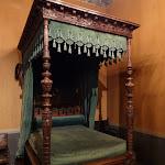 Château d'Ecouen : lit