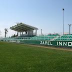 Takie ładne ujęcie na słonecznym stadionie Izola