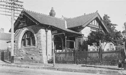 Mount Victoria Post Office 1914