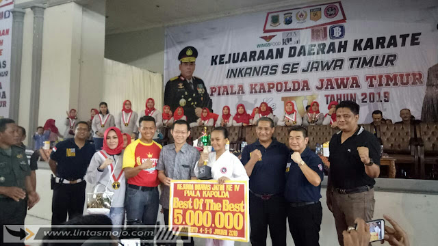 Kejuaraan Daerah Karate INKANAS se-Jawa Timur Piala Kapolda Jawa Timur ke-IV Tahun 2019