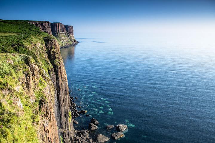 Kilt Rock, Isla de Skye, Escocia