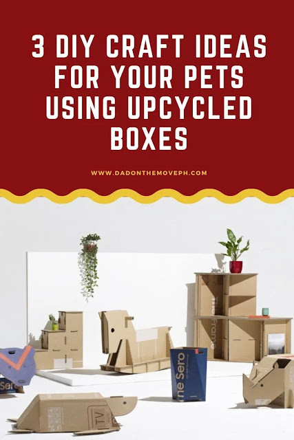 Craft ideas using upcycled boxes