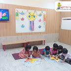 Diwali Celebration by Nursery Section at Witty World Bangur Nagar (2018-2019)
