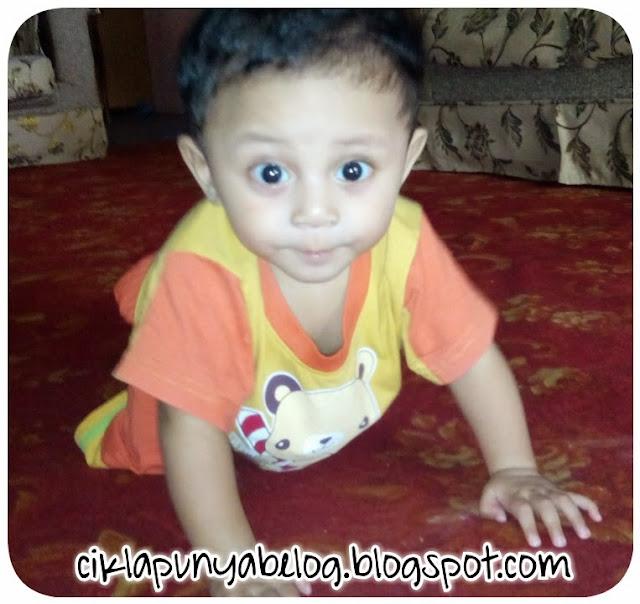 Ahmad Ammar Rizqie 8 bulan sudah!