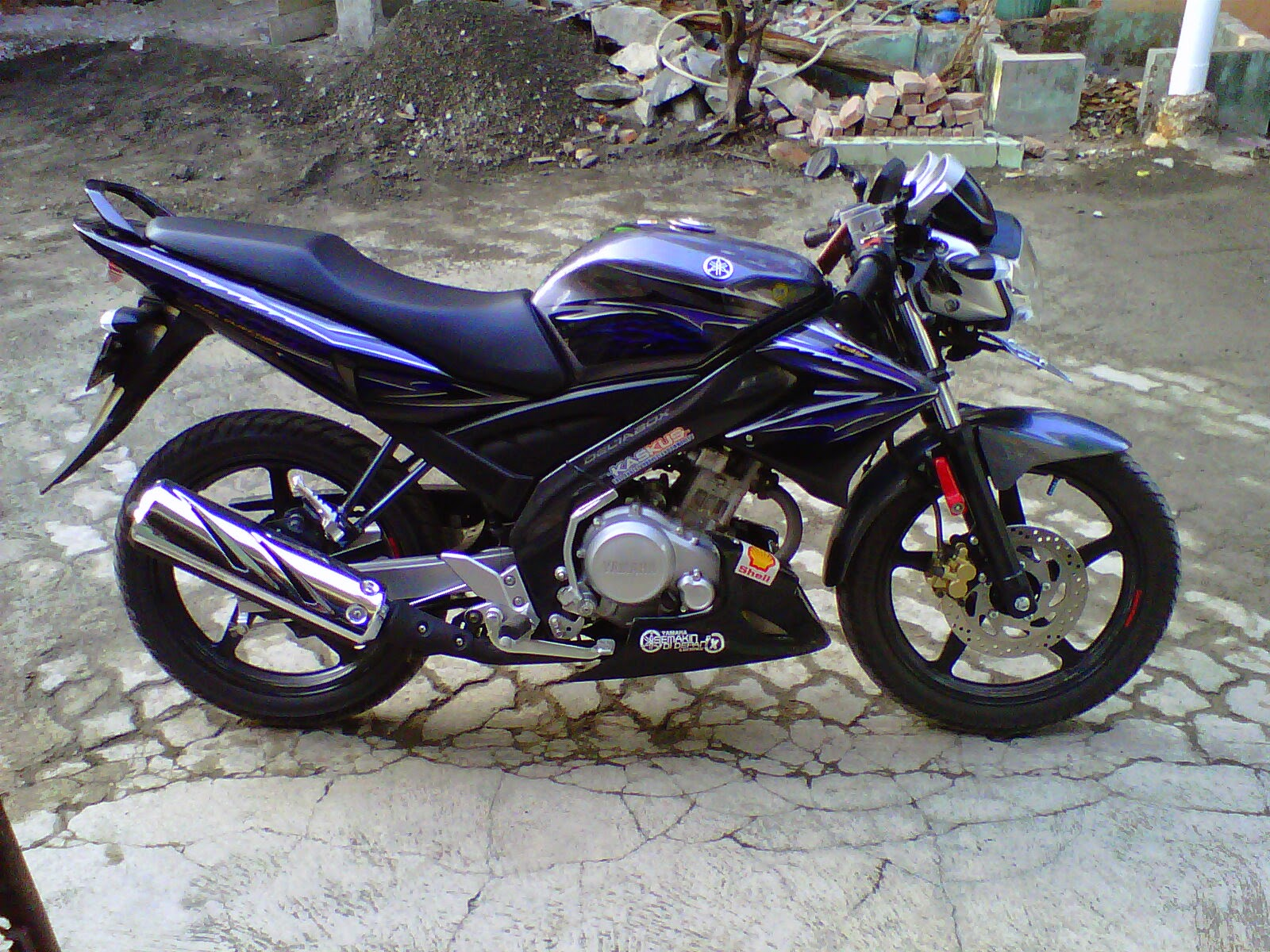 Foto Foto Modifikasi Motor Yamaha Vixion