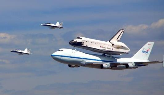 Shuttle Endeavor by Ron Ploof RonAmok.com